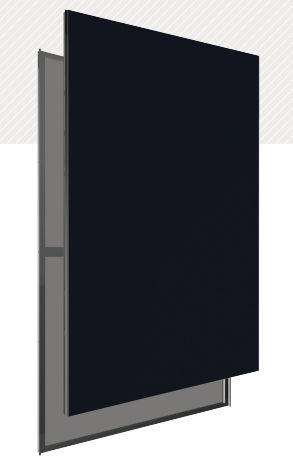 pannello fotovoltaico a film sottile / vetro-vetro