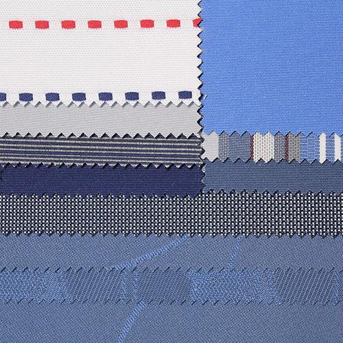 tessuto da tappezzeria / a motivi / a tinta unita / in PVC