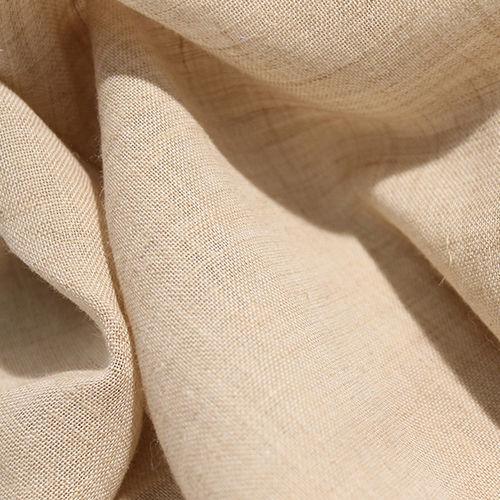 tessuto per tende / a tinta unita / in poliestere / in cotone