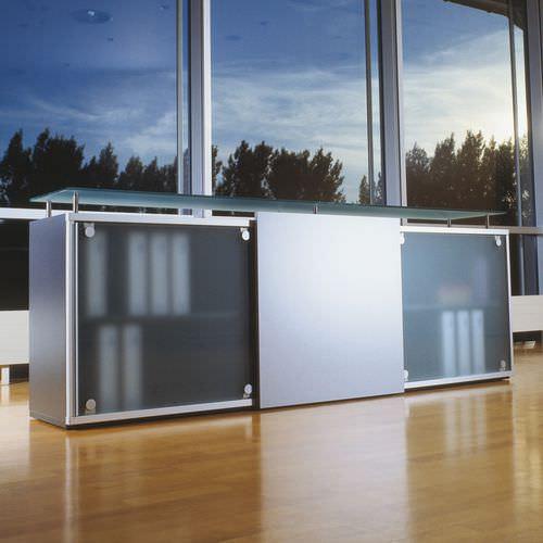armadio classificatore basso / alto / in metallo / in vetro
