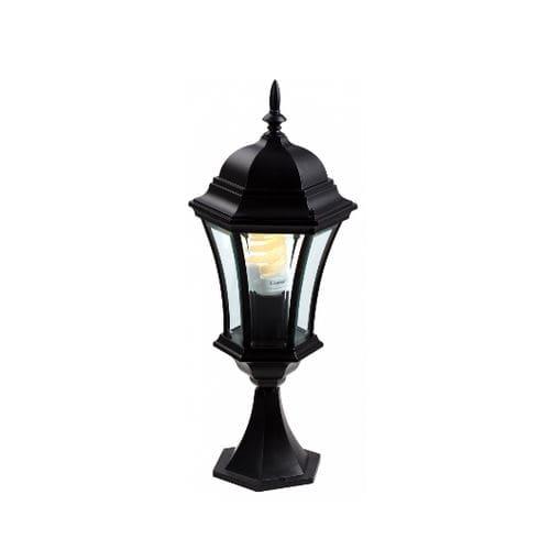 lampada da terra / classica / in alluminio / lanterna