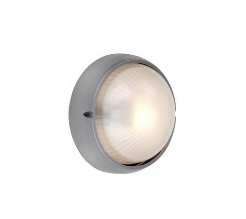 luce fluorescente compatta / tonda / da esterno / in alluminio