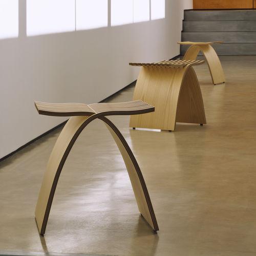 sgabello moderno / in legno / contract
