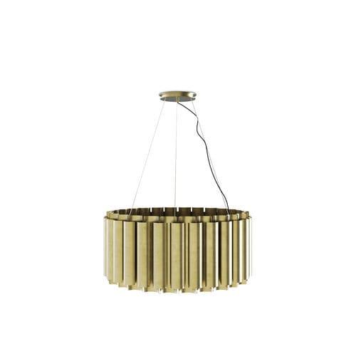 lampada sospesa / moderna / in ottone / fatta a mano