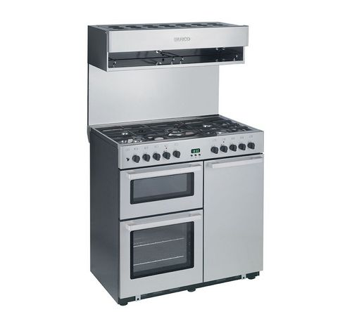Blocco cucina elettrico / per uso professionale / con cappa integrata / con grill COOKCENTRE90DF Burco