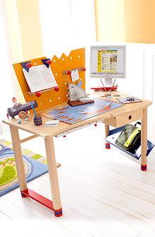 scrivania in betulla / moderna / per bambini