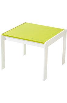 Tavolo moderno / in betulla / quadrato / per bambini (unisex) DOTS HABA