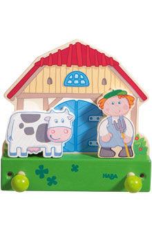 appendiabiti a muro / moderno / in legno / per bambini
