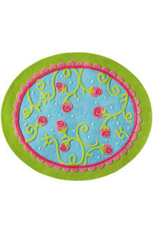 tappeto moderno / a motivi / in lana della Nuova Zelanda / rettangolare