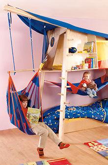 Letto capanna / moderno / per bambini (unisex) / in legno CROW'S CORNER HABA