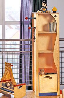 scaffale moderno / in plastica / per bambini (unisex)