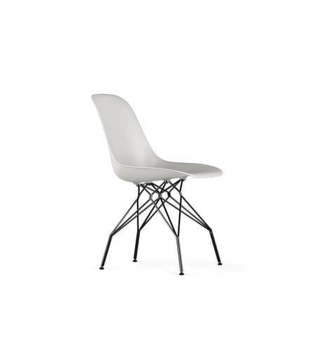 sedia moderna / in metallo / in polipropilene / per uso contract