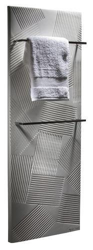 radiatore scaldasalviette ad acqua calda / elettrico / in pietra naturale / moderno