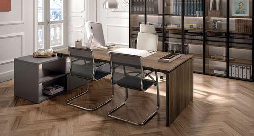 scrivania direzionale / in legno / in melamminico / moderna