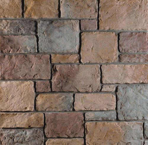 Paramento aspetto pietra / in calcestruzzo / per esterni / indoor CLASSIC : TUSCANY FOUR SEASONS Mathios SA
