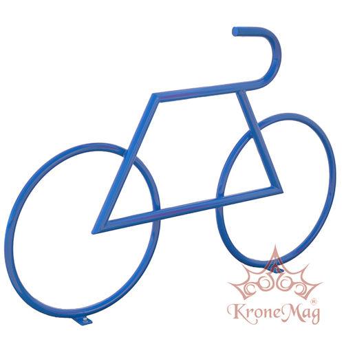 rastrelliera per biciclette in acciaio con rivestimento a polvere / per spazi pubblici / design originale