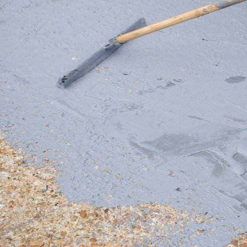 pavimentazione in acrilico / testurizzata / aspetto cemento / autolivellante