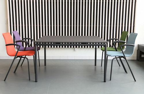 Tavolo moderno / in laminato / in alluminio / rettangolare FOUR MEETING® by Strand & Hvass Four Design