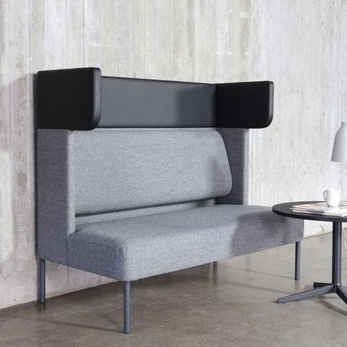 divano moderno / in tessuto / per edifici pubblici / per uso contract