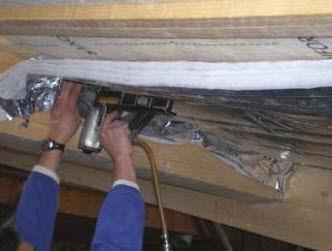 isolante termo-acustico / in lana di vetro / per interni / in pannelli