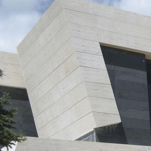 lastra in pietra in marmo / levigata / per facciate / a muro