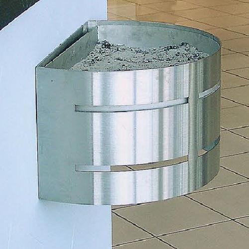 portacenere a muro / in acciaio / in acciaio inox / per esterni
