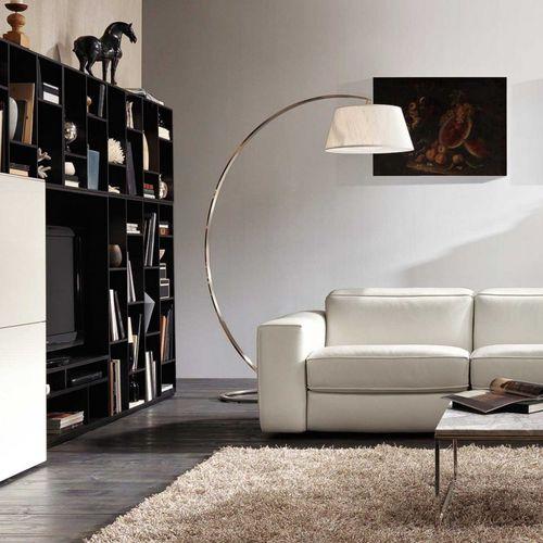 lampada da terra / moderna / in seta / ad arco