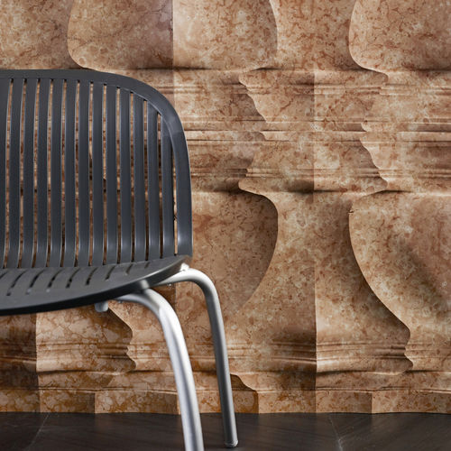 Paramento in pietra naturale / in marmo / indoor / 3D PALLADIO: RV6 by Raffaello Galiotto Lithos Design