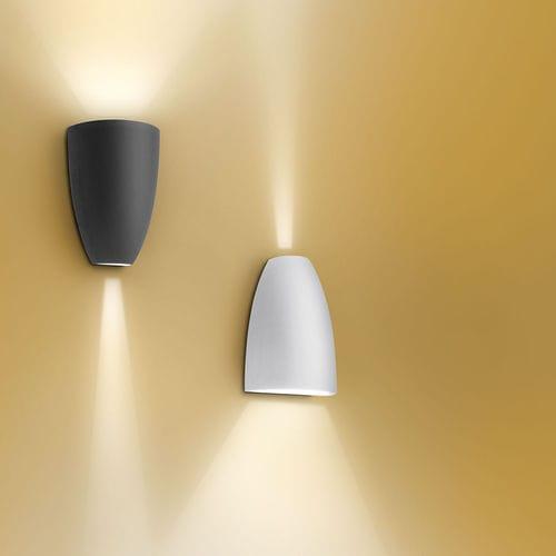 applique moderna / da esterno / in alluminio / con rivestimento in vetro temperato