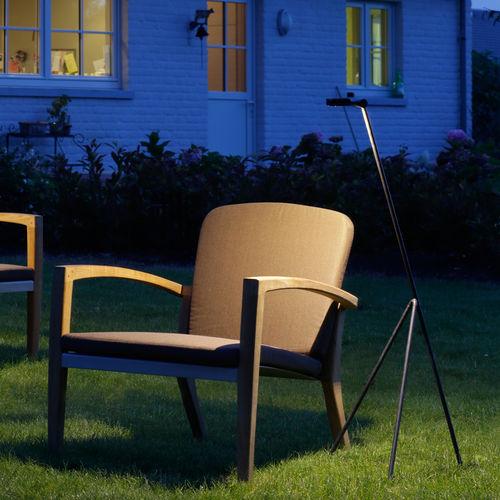 lampada da terra / moderna / in ottone / LED