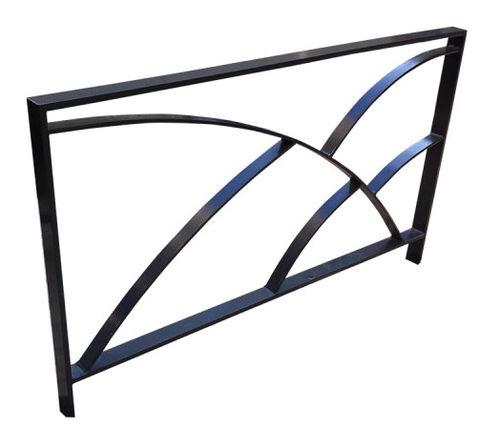 barriera di protezione / fissa / in metallo / per spazio pubblico