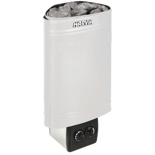 stufa elettrica / moderna / in acciaio inox / per sauna