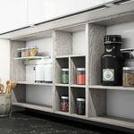 Scaffalatura standard / per frutta e verdura / modulare / non specificato LOUNGE 03 by Enrico Cesana COMPOSIT