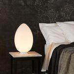 lampada da comodino / moderna / in vetro soffiato / scultura