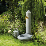 fontana da giardino / in plastica / moderna
