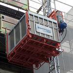piattaforma elevatrice per cantiere / da esterno