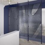 pannello decorativo in resina / per muro / per parete / ad alta resistenza
