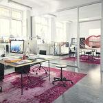 Sgabello da ufficio / da lavoro / moderno / in metallo MR. ROUND  Alexander Seifried Richard Lampert
