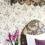 carta da parati moderna / motivo floreale / non tessuta / con motivo stampato