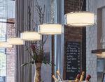 Lampada a sospensione / moderna / indoor / in vetro CURLING by Jean-Marc da Costa & Manfred Wolf Serien