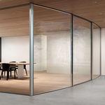 vetrata scorrevole / in metallo / a doppi vetri