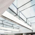 parete fissa / vetrata / ad uso professionale / traslucida