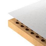 Pannello acustico in MDF / per arredamento di interni / aspetto legno NANOFOR Fantoni