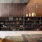 libreria modulabile / alta / bassa / moderna