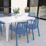 sedia moderna / in polipropilene / con braccioli / impilabile