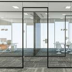 parete amovibile / vetrata / da ufficio / acustica