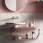 piastrella da parete / in ceramica / a tinta unita / motivi geometrici