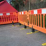 Barriera pedonale / autoportante / in HDPE / manuale CHAPTER 8 Algeco