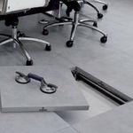 Pannello per pavimento sopraelevato in gres porcellanato / resistente al calore PTS Mirage Granito Ceramico