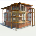 software di project management / di gestione di cantieri / per struttura in legno / 3D